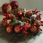 赤リンゴのリース