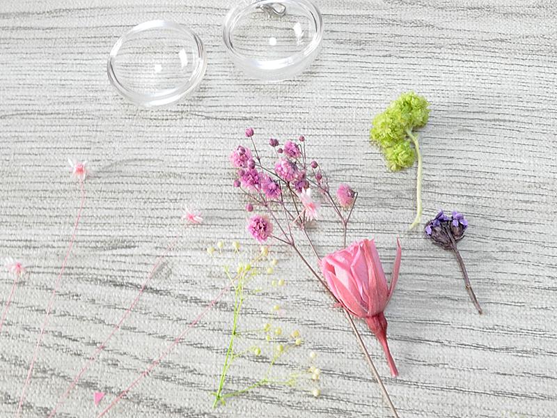 花材の準備