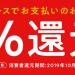 キャッシュレス・ポイント還元のご案内<10/1~クレジットカード払いで5%還元!>